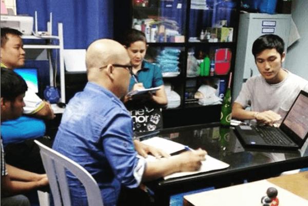フィリピン中を営業